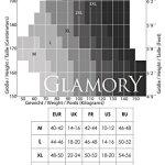 Glamory Comfort 20 Bas autofixant 20 DEN Marron (Make Up), XXX-Large Femme