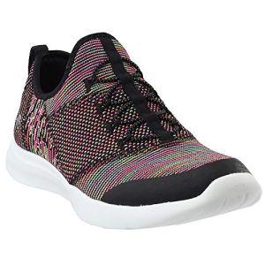Skechers Studio Comfort Mix and Match Womens Slip On Sneakers Black/Multi 9.5