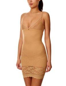 Triumph – Lace Sensation – Combinaison gainante – Uni – Sans manche – Femme – Marron – FR : 40 (Taille fabricant : 12)
