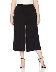 Anne Klein Women's Size Plus Light Crepe Culotte