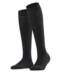 FALKE Softmerino Chaussettes Femme NA Noir (Black 3009) 39/40 (Taille fabricant: 39-40)