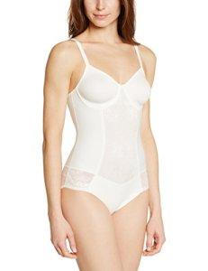 Triumph – Cool Sensation – Body – Uni – Femme – Blanc (Vanille) – FR : 95D (Taille fabricant : 80D)