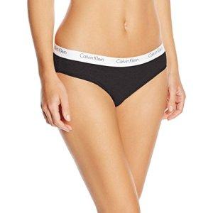 Calvin Klein Underwear – Culotte – Uni – Femme,Noir (Black)-M