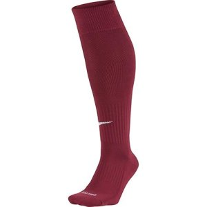 Nike – SX4120 – Chaussettes de football – Mixte adulte – Multicolore (Team Red/White) – M (Taille fabricant: 38-42)