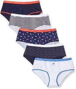 Dim Boxer Les Pockets Coton X5, Multicolore (Lot Méditérranée 8zk), 36 (Taille Fabricant:36/38) 5 Femme