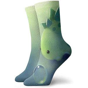 ELIST Super mignon petit dinosaure adulte chaussettes courtes coton chaussettes drôles pour hommes femmes yoga randonnée cyclisme course à pied football sport