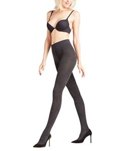 FALKE Softmerino Collants Femme NA Gris (Anthra.Mel 3089) 38 (Taille fabricant: 38-40)