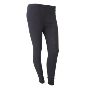 FLOSO – Sous-pantalon thermique – Femme (Hanche: 107-112cm (46-48)) (Noir)