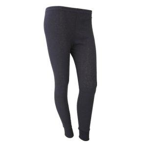FLOSO – Sous-pantalon thermique – Femme (Hanche: 97-102cm (42-44)) (Noir)