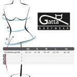 Gatta Viki Lot de 3shortys sans coutures – Noir – X-Large