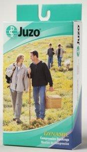 Juzo Soft Knee High 30-40mmHg Open Toe, III, Black by Juzo
