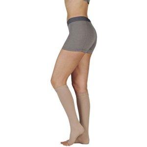 Juzo Soft Knee High Short Closed Toe 30-40mmHg, III, Beige by Juzo