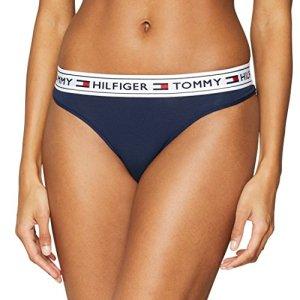 Tommy Hilfiger Brazilian Culotte brésilienne, Bleu (Navy Blazer 416), 42 (Taille Fabricant: 40 Large) Femme
