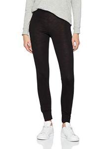 Trigema Pantalon de ski douillet laine mérinos L, noir