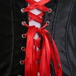 MISS MOLY Sexy Femme Burlesque Lingerie Bustier Jarretière G-String