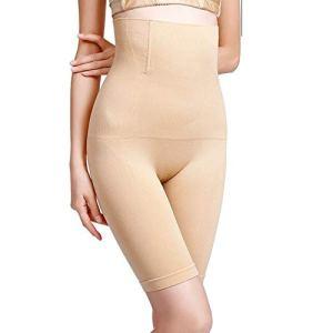 A/X Shapewear Femmes Mode Fat Burning High Waist Underwear Lady Respirant Shaping Underwear Pantalon Seamless Tummy Control Body Shapers XL-2XL Khaki