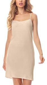 Merry Style Fond de Robe Lingerie Femme MS10-203 (Beige, XL)