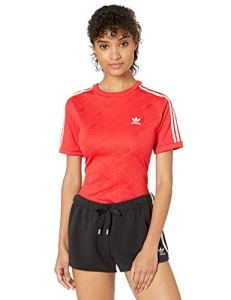 Adidas Originals Superstar Body pour femme – Rouge – X-Small
