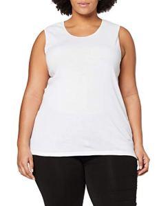 Damart Débardeur Fine Cote Thermolactyl Degré 3, Haut Thermique Femme, Blanc (Blanc), 38 (Taille Fabricant: S)