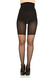 Spanx Collants pour le moulage du corps pour femme 5 Noir