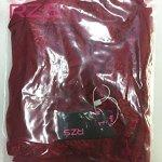 RZS Lingerie en Dentelle Robe avec noeud de fleur Nuisettes fine à Licou Vêtement de Nuit(Rouge, S)