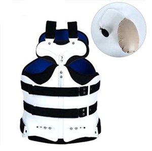 Support médical de taille et d'abdomen d'orthèse de support bleu blanc , D