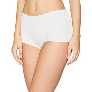 Triumph Touch of Modal Short Maillot De Corps, Blanc (White 03), 38 (Taille Fabricant: 36) Femme