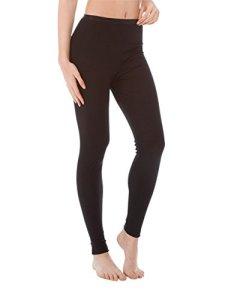 CALIDA True Confidence Damen Leggings Bas Thermique, Noir (WS 996), L Femme