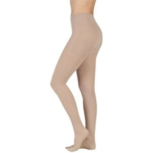 Juzo Soft Compression Pantyhose 30-40mmhg Open Toe, V, Beige by Juzo