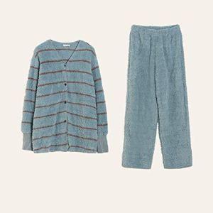 Pyjama De Dames Mme Bouton vers Le Bas Reste l'anniversaire Pyjama Manches Longues A Épousé Le Choix De Cadeau Parfait Costume Longues Pantalon Manches (Couleur : Vert, Taille : 160)