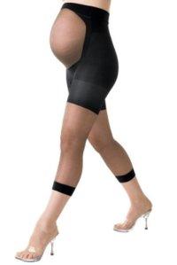 Spanx Collants de maternité pour femme ré Noir