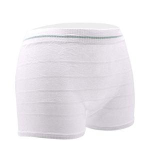 Culotte de maternité jetable Slip d'hôpital Culotte de maternité lavable C Section Sous-vêtements post-partum (6PCS) (2XL)