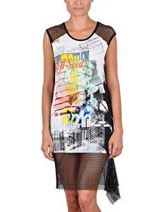 Cybele – Robe de Plage 7-740008 – Femme – Noir – Multicolore – FR 40