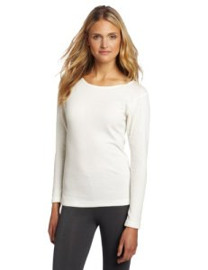 Duofold by Champion Originals Mid-Weight Women's Thermal Shirt L White