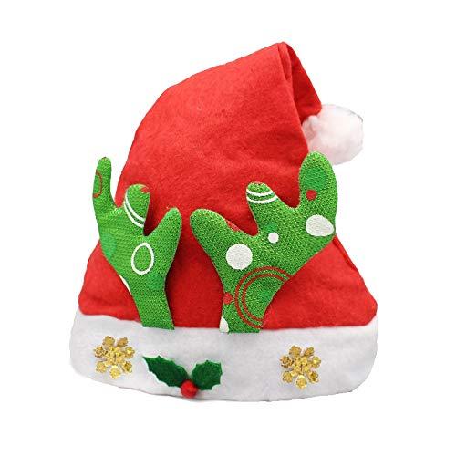 Enfants Motif Décoration de Noël Corne de cerf Déguisé, Prime de Non-tissé Tissu Chapeau de Père Noël ChunRongShangMaoYouXianGongSi