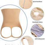 KSFBHC Body Minceur Shaper Taille Bodysuit Femmes Tummy Culottes De Contrôle Amincissants (Color : Black 1 Piece, Size : X-Large)