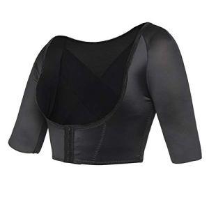 KSFBHC Bras Shaper Posture Compression Correcteur Hauts Femmes épaule Amincissants Retour (Color : Black, Size : Small)