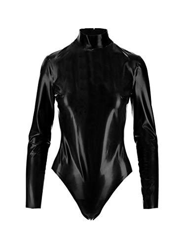 SAINT LAURENT Mode De Femme 632946Y7B071000 Noir Caoutchouc Body | Automne-Hiver 20
