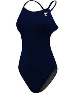 TYR Durafast One Solides pour Femme, Femme, TFSOD7A40126, Bleu Marine, 26