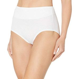 Bali Women's Passion for Comfort Brief Panty, Lilac Rose Link Print, 6