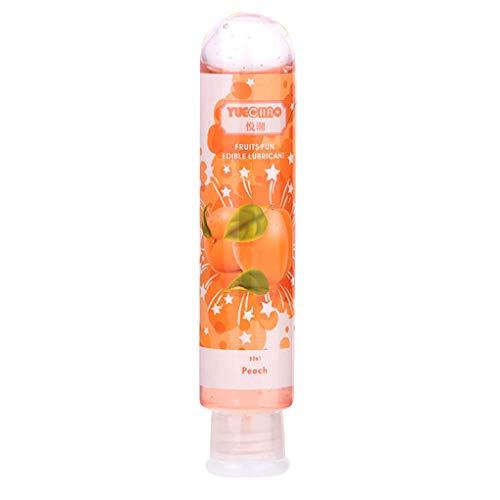 Babysbreath17 80ml Fruits comestibles Saveur de lubrifiant à Base d'eau Non Toxique Lubrifiant Sexuelle Anal Oral Sex Gel lubrifiant 4 145x30mm