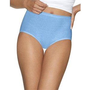 Hanes Ultimate Slip en coton ultra doux pour femme – – Taille M