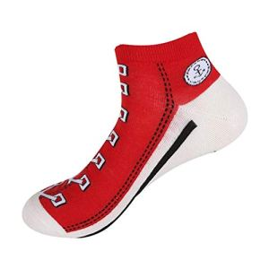 MIWNXM 10 Paires Korean Summer Style Ankle Sock  Cowboy Sport for Lovers  Funny Socks  Creative Canvas Shoes Women Socks