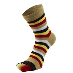 SMEJS 6 Paires de Chaussettes pour Femmes Automne et Hiver drôle drôle Mignon -en-Ciel Couleur imprimé Chaussettes de Coton (Color : E)