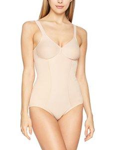 Triumph Modern Soft + Cotton Bs, Combinaison Gainante Sans armature Femme, Beige (Neutral Beige Ep), 95E (Taille fabricant: 80E)