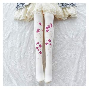 YUNGYE Wind Sweet Sweet Lolita Soye Bas Lolita Bas Soft Girl étudiants Payshose (Color : 100D, Size : 150cm 165cm)