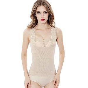 Fascigirl Femmes Body Shaper Gilet Mesh Respirant Formation Corset Underbust Taille Corset Slim Shapewear Lifter