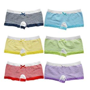 Lot de 6 culottes en microfibre pour femme – Multicolore – S-M