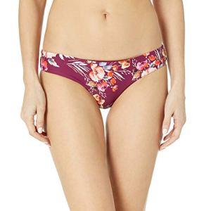 Billabong Women's Float On by Hawii Low Bikini Bottom, Crushed Berry, L