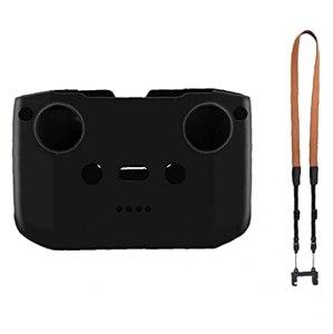 Binocular, Appareil photo et caméscope Straps Télécommande Sangle Compatible avec DJI Mini 2 Air Mavic 2 Air 2S avec boîtier noir en silicone